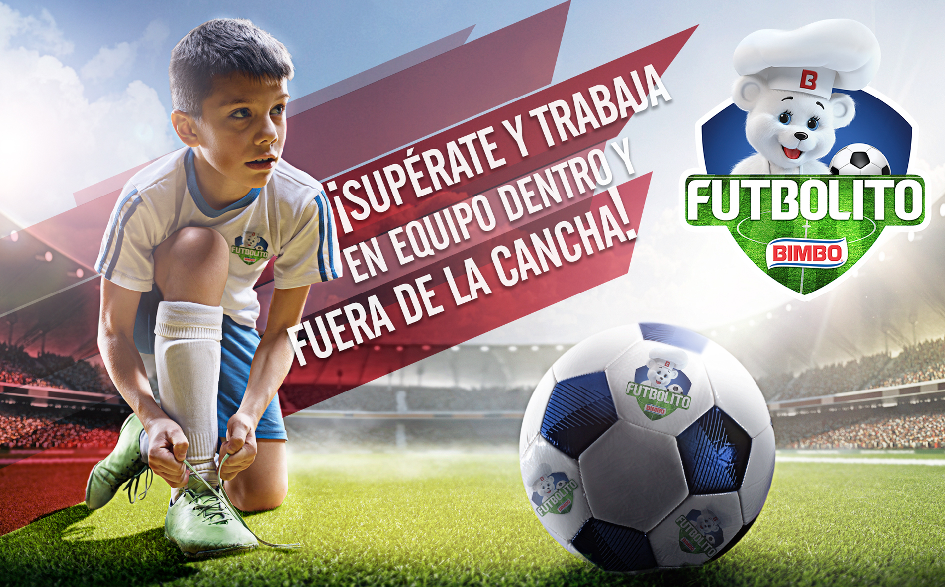 Bimbo® B-Active Soccer Tournament, un campeonato de fútbol de Bimbo® para niños y niñas