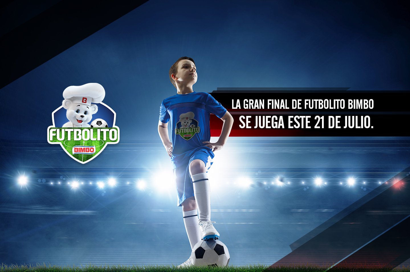 Futbolito Bimbo® 2019. ¡Acompáñanos!